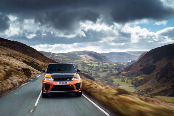 Range Rover Sport SVR Global Media Drive